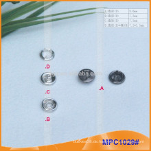 Kundenspezifische Cap Prong Snap Button MPC1029