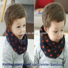 Mode Schals Kaschmir gestrickt Hals wärmer glänzend magischen gestrickten Schal