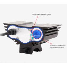 Мощный водонепроницаемый фонарь cree u2 мощностью 3000 люмен