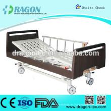 DW-BD186 medline cama de hospital semi eléctrica cama de enfermería manual con dos funciones para equipos médicos