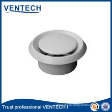 Válvula de disco de plástico de alta calidad para ventilación de sistemas HVAC
