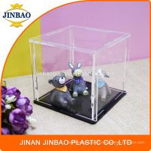 Jinbao Personnalisé transparent vitrine de jouets en acrylique