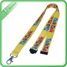 Polyester Material Lanyard with Sublimated Printing Logo