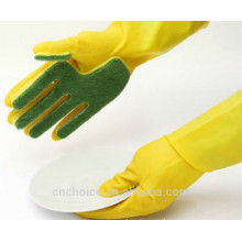 Rubber Latex Cleaning Gloves rubber gloves for cleaning
