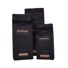 Flat Bottom Coffee-Bean Packaging Bag With Valve Zipper