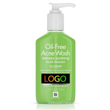 Private Label Oil-Free Acne and Redness Facial Cleanser Soothing Face Wash