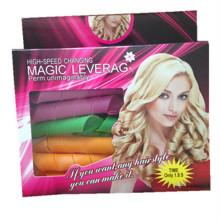 18PCS Magic Hair Roller avec 2 crochets (HEAD-127)
