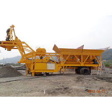 Yhzs 50 Mobile Concrete Batching Plant (50m3/h)