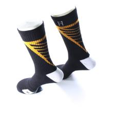 En gros tricoté Cushioned Hommes Elite personnalisé Sports Sock