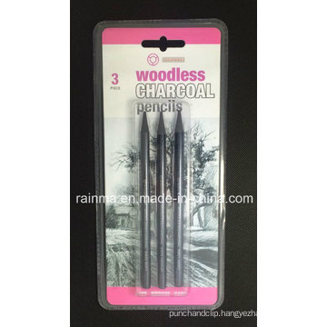 Woodless Graphite Pencils 3 PCS Blister Packing