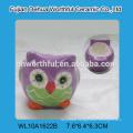 Factory direct sale customize ceramic teapot bulk in owl shape