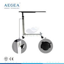 AG-OBT001B Commerical furniture wooden medical adjustable hospital beside tables