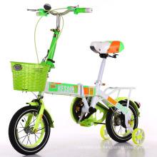 "Newest Design 14"" Kids Folded Bike Children Bicycle"