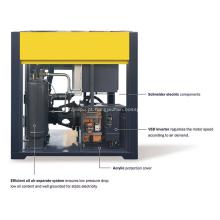 Compressor de ar de parafuso rotativo 250KW para perfuração