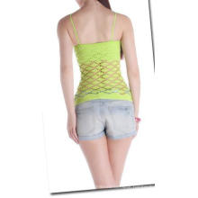 Seamless Fahion Sexy Ladies Mesh Crop Top