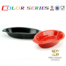Korea stone cereal color bowl with handle black rice bowl