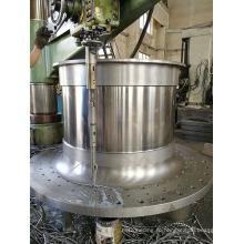 Конструкция и литье торцевой крышки шаровой мельницы