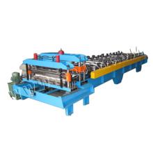 Einzelne Presse-Form-Stahlfliese, die Maschine bildet