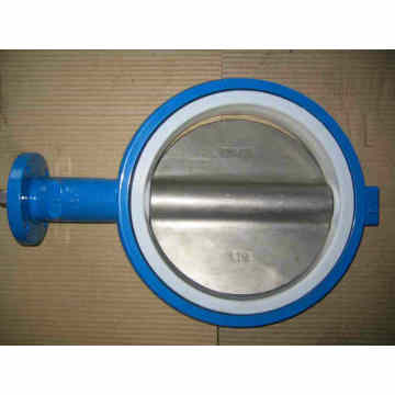 One Shaft Without Pin Wafer Type Butterfly Valve