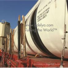Tubos de acero de gran diámetro para suministro de agua