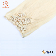 Alibaba In Russian Direct Factory Wholesale Price Quad Weft Clip Hair Extension