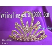 Wholesale gold wedding jewelry bridal crowns