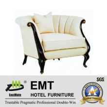 Canapé moderne de chambre à coucher d'hôtel cinq étoiles à vendre (EMT-SF32)