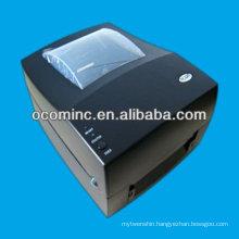 Direct thermal label printer for metallic label