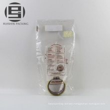 Custom printed plastic bread packaging bags