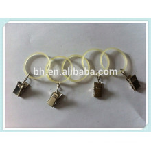 China Baihong Plastic Curtain Ring Clip For Curtain Eyelet Rings