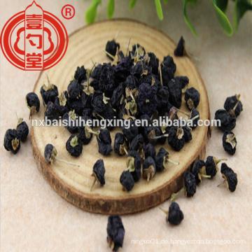 Getrocknete schwarze Goji-Beere mit hohem Anthocyanin-Anti-Aging