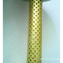 Stainless Steel Copper Perforated Pipe Tube Filter