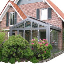 Glass House Elegant Aluminum Prefabricated Home Sunroom