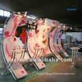 Hire exhibit stand by DeTian Display, exhibition booth cntractor provide trade show booth, tradeshow booth
