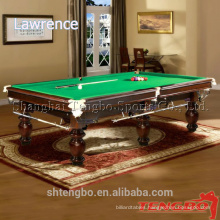 Custom size solid wood 10ft snooker superior billiard table