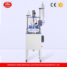 Single Layer Hydrolysis Glass Reactor Chemical Industry