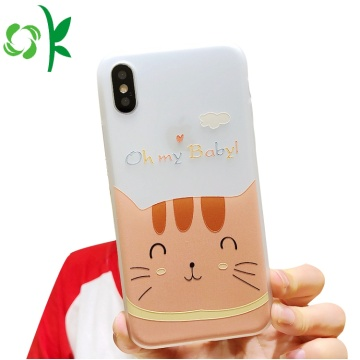 Coque TPU Mobile Cartoon pour iPhone 8 / X / XS