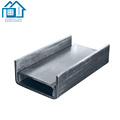 Profilés d'acier profilés en acier galvanisé