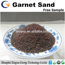 Red garnet rough abrasive