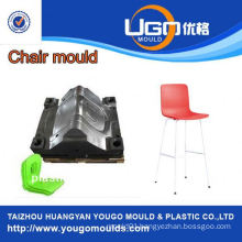 plastic household mould factory for new design bar plastic chair mould in taizhou China