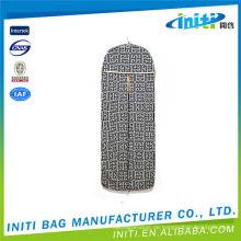 China Hersteller Großhandel Qualität klare Kunststoff Reißverschluss Kleidungsstück Tasche