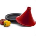 Useful 12'' Moroccan Chicken Tagine/Tajine Tagine Pot With Different Colourful Ceramic Lid