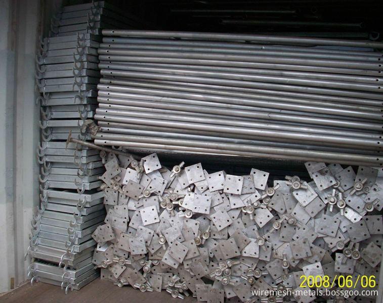 scaffolding tube 15