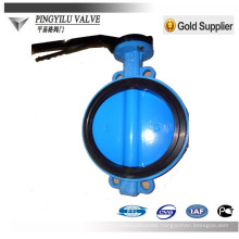lugged type center line flange butterfly valve for oil pipe