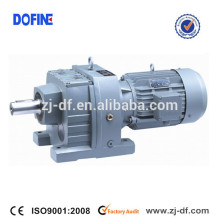 R67 helical Coaxial gearmotors foot mounted SEW type gearbox