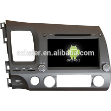 Android 4.4 Mirror-link Glonass / GPS 1080P dual core multimedia central para Honda Civic antiguo con GPS / Bluetooth / TV / 3G