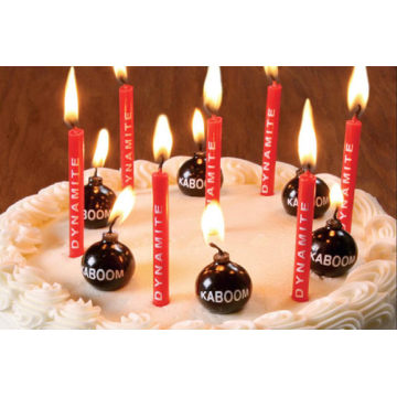 Factory making for Alphanumeric Birthday Candles birthday candles Party Candle Holiday Candle supply to Spain Wholesale