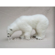 customized plush toys custom stuffed animals polar bear christmas decoration