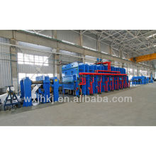 Large conveyer belt vulcanizing press line