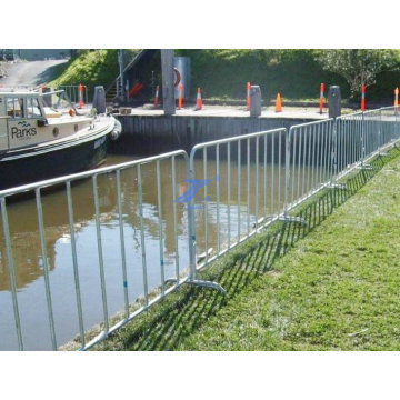 River Bank Crowd Control Fence